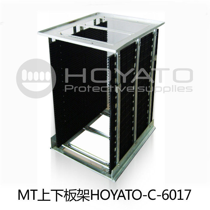 Anti Fold / Anti Aging ESD PCB Magazine Rack , Bearing Strength SMT Magazine Rack
